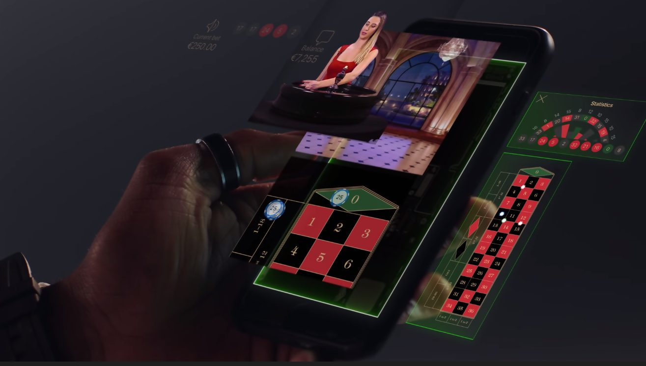 play live roulette on mobile casino