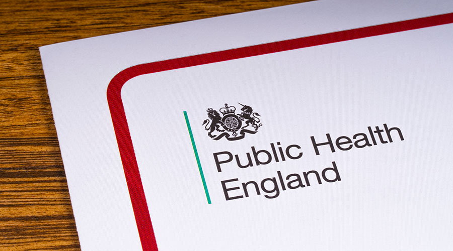 Evidence-based probes by Public Health England into gambling by 2020
