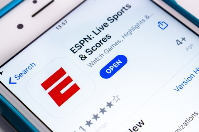ESPN partners with Caesars Entertainment Inc. and DraftKings Inc